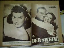 THE QUIET MAN, German Film program [John Wayne, Maureen O'Hara] - John Ford film