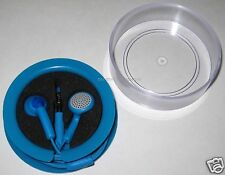 Blue Auvio stereo earbuds.. Brand new in case!!