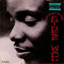 PHILIP BAILEY Walking On The Chinese Wall Vinyl Record Single 7 Inch CBS 1985 EX