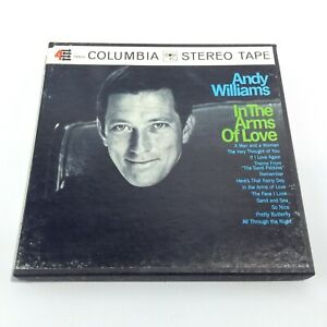 ANDY WILLIAMS In The Arms Of Love Reel To Reel Tape COLUMBIA CQ863 VG