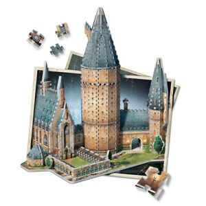 Box Not 100% Puzzle 3D Hall Large Of Castello Harry Potter Hogwarts 850 Pieces