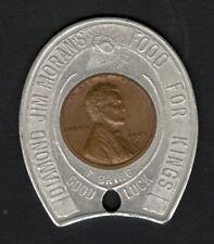 1953-D Encased Cent – Diamond Jim Moran's Restaurant, New Orleans