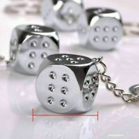 Fashion Dice Key Ring Key Chain Keyring Car Keychain Pendant Charm Gift 1PC