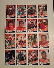 1990 Virginia Cavaliers Football Uncut Sheet  Herman Moore  Charter Hospital