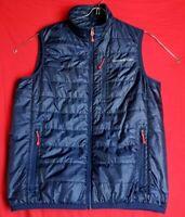 Vineyard Vines  Men Full Zip Polyester Blue Primaloft Puffer Pocket Zipp Vest
