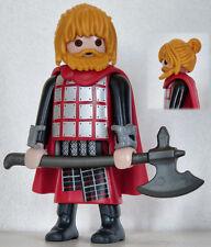 Playmobil romain - barbare - gaulois - celte - germain - guerrier #9 - custom