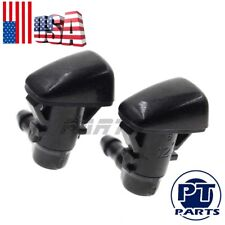 2Pc 5182327-AA Windshield Washer Wiper Nozzle Water Spray Jet For Chrysler Dodge
