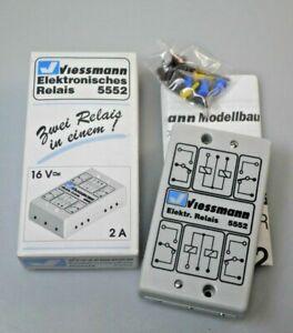 VIESSMANN  Elektronisches Relais mit 1 x 4 Umschaltern, 16 V / 2 A;  Neu in OVP