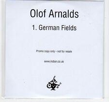 (EF42) Olof Arnalds, German Fields - 2013 DJ CD