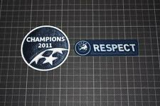 UEFA CHAMPIONS LEAGUE WINNER and RESEPCT BADGES / PATCHES 2011