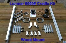 Lunmar 6000# Cradle Kit Wood Mount