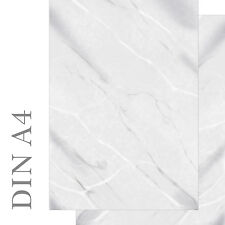 Motivpapier Briefpapier Marmor marmoriert schwarz weiß grau 100 Blatt A4 neu