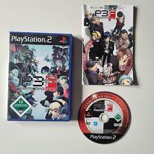 Shin Megami Tensei - Persona 3 FES  - PS2 - Pal Version