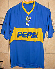 CLUB ATLETICO BOCA JUNIORS REPLICA FAN ENTHUSIASTIC JERSEY SMALL Size