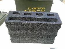 Ammo Can Closed Cell Foam Insert-Turn a 30 cal ammo can into a pistol/gun case
