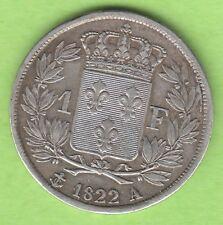 France 1 franc 1822 A jolie presque VZ nswleipzig
