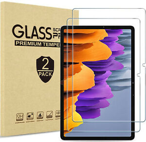 2 X Tempered Glass Screen Protector for ALL Samsung Galaxy Tablet A7 T500 T510
