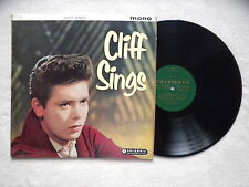 "LP CLIFF RICHARD ""Cliff sings"" COLUMBIA 33SX 1192 MONO ENGLAND §"