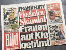 BILD Zeitung 13. April 2011 / 4. / 13.04.2011 / Sahin Real Madrid BVB Dortmund