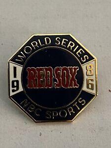 1986 Boston Red Sox World Series Media Press Pin -