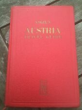 nagel's travel guide - austria 1952