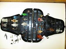 Star Wars Vintage Darth Vader Head Collectors Storage Case & Figurines Kenner