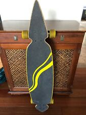 ATOM PINTAIL LONGBOARD Skateboard COMPLETE 9 1/2 in x 44 in Good Condition
