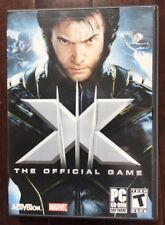 X-Men: The Official Game  (PC, 2006) 4 full game DVDs  A13