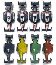 4 1991 TYCO Valvoline Toshiba #1 F1 INDY Slot Car Body Painted Plastic Test Shot