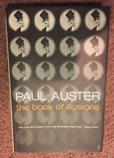 Paul Auster• THE BOOK OF ILLUSIONS (2002 HC) 1st Edition/3rd Printing• Very Good