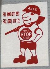 Retro Sticker - A.G.S. N0 1 Stop Shop