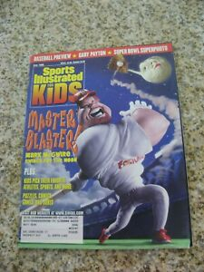 April 1999 Mark McGwire St. Louis Cardinals Sports Illustrated For Kids