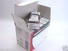 12 Cooper 1107W-Box White Decorator Duplex Receptacle Outlets 5-15R b215