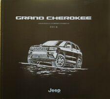 2016 Jeep Grand Cherokee Summit Overland Limited Laredo SRT Sales Brochure