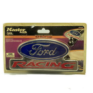 Master Lock Ford Racing Ball Mount Logo