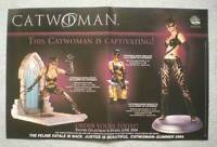 "CATWOMAN STATUES Promo Poster,  17""x11"", 2004, Unused, more Promos in store"
