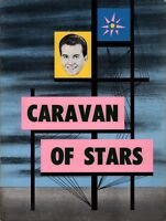 THE SUPREMES 1964 DICK CLARK CARAVAN OF STARS TOUR PROGRAM BOOK / NMT 2 MINT
