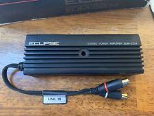 New Old School Eclipse EUM-2204 2 Channel Amplifier,Rare,vintage,SQ,Amp