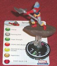 TERRAX THE TAMER 101 Avengers HeroClix PROMO LE