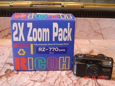 RICOH RZ-770 35-70 ZOOM UV COATED 35mm CAMERA COMPLETE IN ORIGINAL BOX