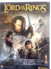 The Lord of the Rings: The Return of the King (DVD, 2008, 2-Disc Set) * USED *