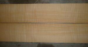 "quarted figured ash wood veneer 1/42"" 5""x38"""