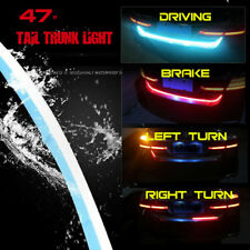 LED Car Tail Trunk Tailgate Strip Light Brake Driving Signal Flowing Knight -47""