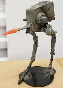 Star Wars Miniatures - Attack on Endor: AT-ST (Rare) #1 w/Card