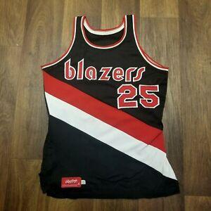 Tom Owens + Corky Calhoun Portland Trail Blazers Game Worn Jersey 1977-78 Sz 42