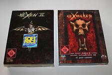 HEXEN II 2 Soft Price + Level Editor HEXMAKER komplett in Kartons PC Ab 18! RAR