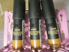 3 x Nudestix Nudies All Over Face Color HEY HONEY .07 oz travel size NEW!