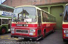 Barton Transport, Chilwell PTV584X Bus Photo Ref P1630