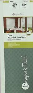 Designer's Touch  2- inch  PVC Builds Faux Wood