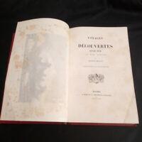 Arthur Mangin Voyages et découvertes illustré de gravures par Durand-Brager 1863